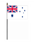 Australia Navy Ensign Hand Flag - Small.